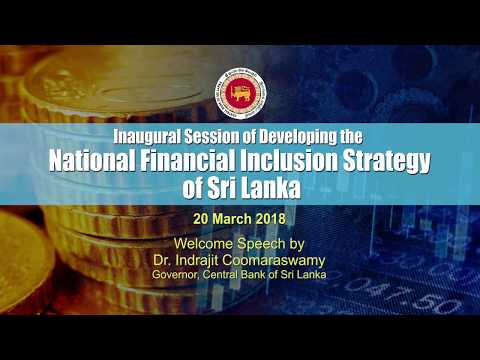 Developing the National Financial Inclusion Strategy of SL