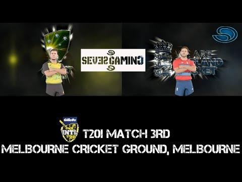 Australia Vs England 3rd T20 - Ashes Cricket 2017 - Gameplay PC