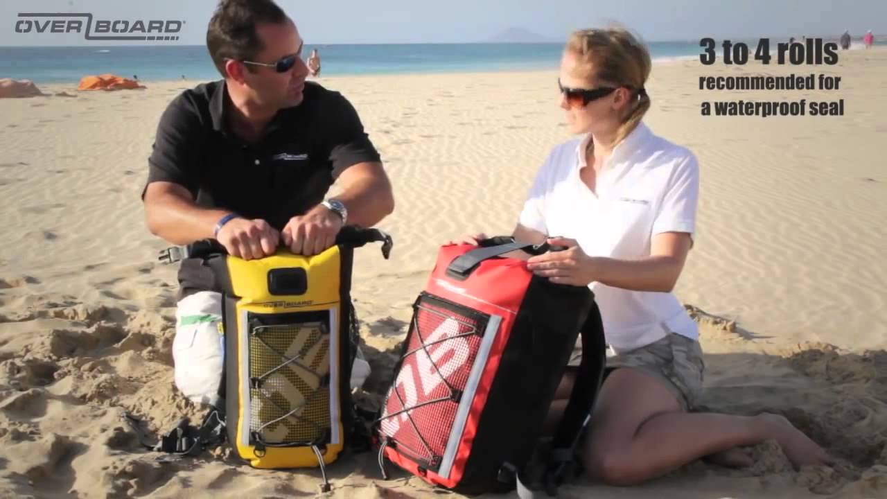 OverBoard 20 Litre Waterproof Backpacks - New at ProSwimwear ...
