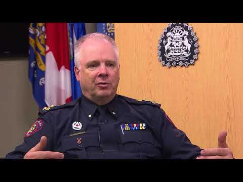 Year-end interview with Calgary Police Chief Roger Chaffin