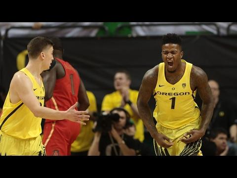 Highlights: Oregon men's basketball routs Arizona at MKA