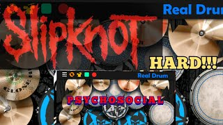 PSYCHOSOCIAL - SLIPKNOT   REAL DRUM Cover