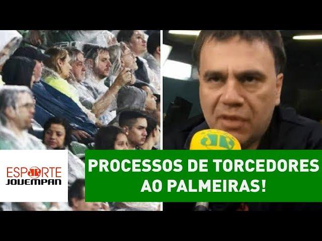 Palmeiras é PROCESSADO por torcedores! O que Beting achou?