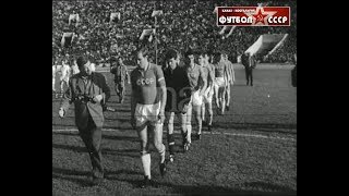 1966 USSR France 3 3 Friendly football match review 2