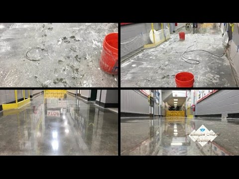 Concrete Floor Finishes - Concrete Polishing - Concrete restoration in VA - MD - Washington DC.