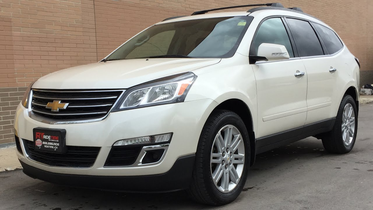 2014 Chevrolet Traverse LT AWD Sunroof Alloy Wheels