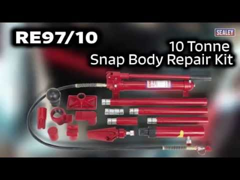 Sealey RE97/10 10 Tonne Snap Body Repair Kit