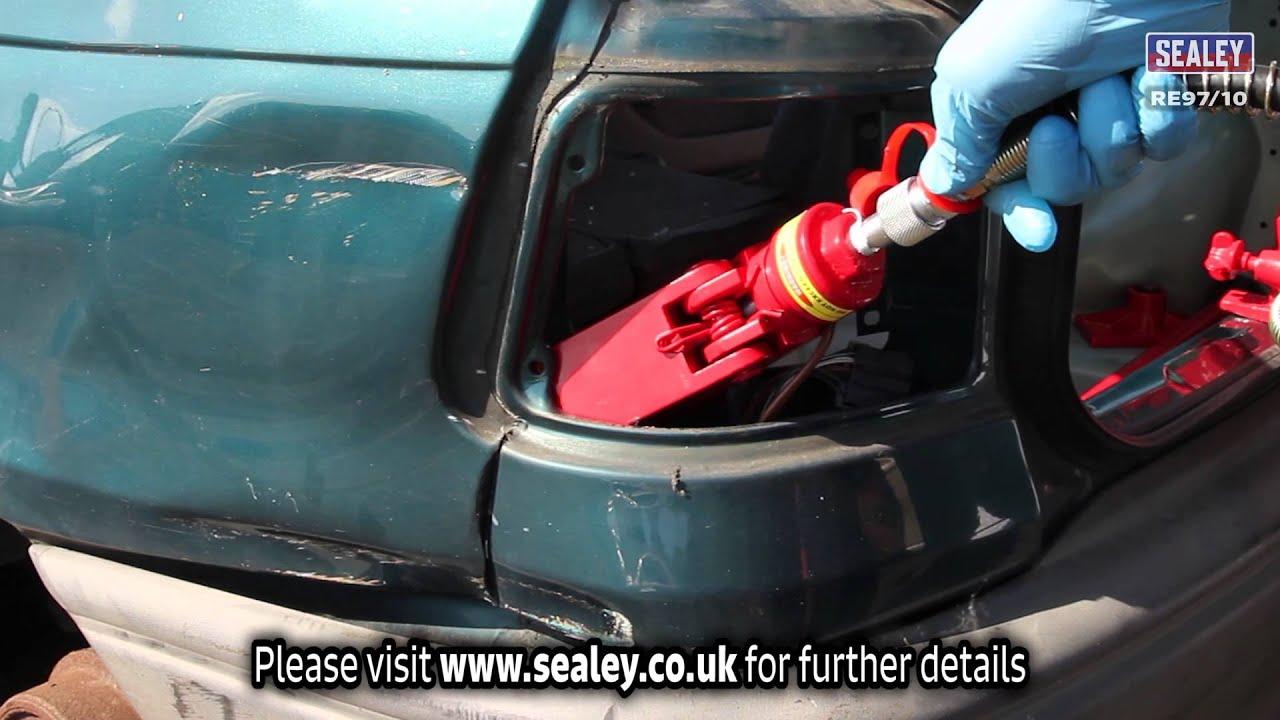 Sealey Re97 10 10 Tonne Snap Body Repair Kit Youtube
