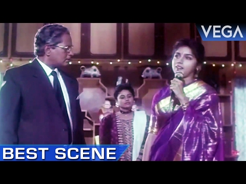 Revathis Plan Get Success & Nizhalgal Ravi Gets Arrested || Meendum Savithri Movie || Best Scene