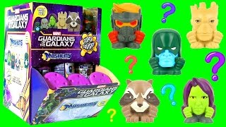 marvel guardians of the galaxy mashems toys full case by funtoys opening 35 fashems toys