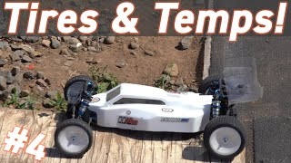 Testing Temps & Changing Tires - B6.2 Buggy Build Series - Part 4