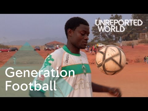 Young footballers dreams dashed by fraudsters in Cameroon | Unreported World