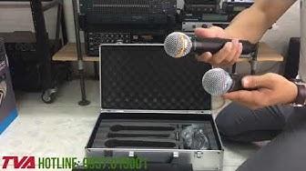 Bung hộp micro Shure U-930  Micro huyền thoại karaoke