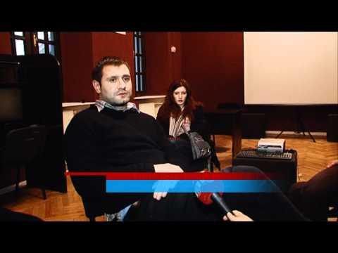 Georgian student's movie took the special jury prize. Margo Zubashvili. Region TV