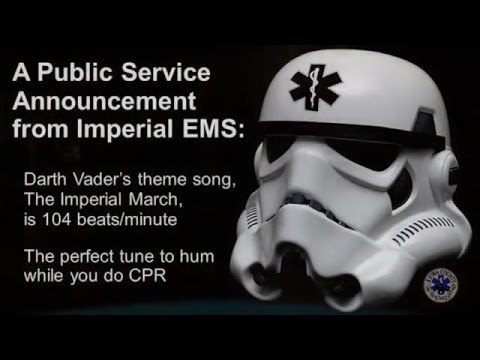 Star Wars CPR Flash Mob 2016