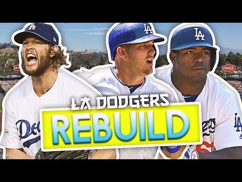 LOS ANGELES DODGERS REBUILD! MLB THE SHOW 18 Franchise World Series Challenge