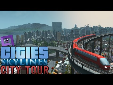 Cities: Skylines - A Tour of My First City