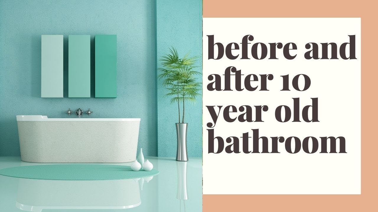 Before and after .. bathrooms