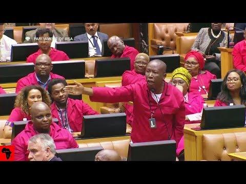 WATCH: Julius Malema vs Naledi Pandor