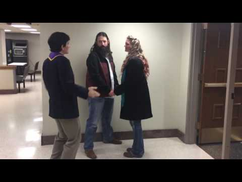 Cleveland County Courthouse Wedding Ceremony for Jared Edward Trotter & Andrea May Weaver