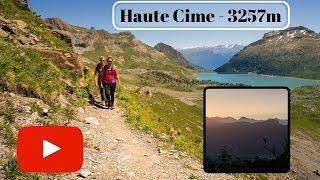 Hike to Dents Du Midi, Haute Cime - BEST VIEWS EVER!!