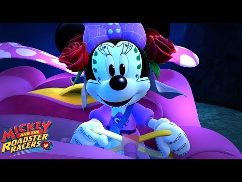 Go-G-Ghost | Music Video | Mickey and the Roadster Racers | Disney Junior