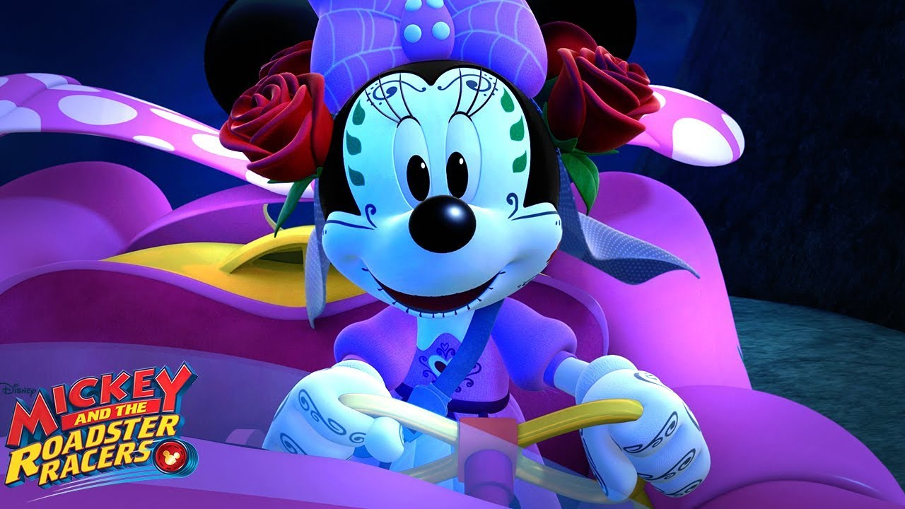 Go-G-Ghost 👻 | Music Video | Mickey and the Roadster Racers | Disney Junior