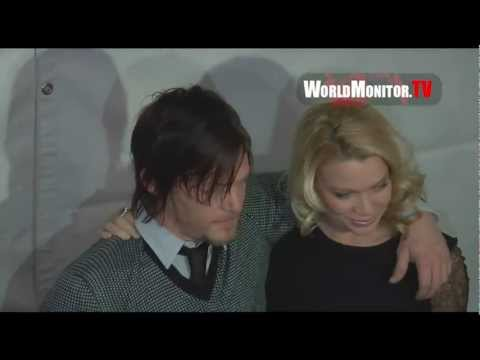 Laurie Holden 'Andrea' arrives at The Walking Dead Panel PaleyFest 2013