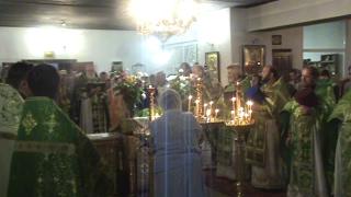видео Вечерняя служба в церкви