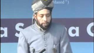 Burhan Zafar Sb- Seerath-e-Sahaba at Jalsa Qadian 2009 Day 3 Morning Part 1-5