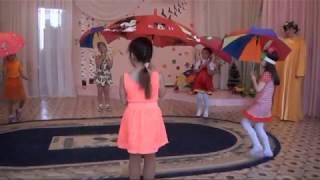 """""""Танец с зонтиками"""". Д/с № 42 """"Пингвинчик"""", г. Верхняя Салда."""