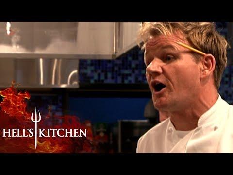 Gordon DESTROYS Customer | Hell's Kitchen