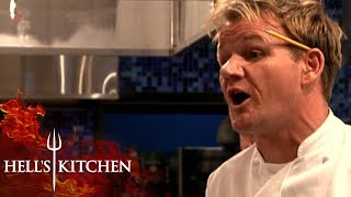 Gordon DESTROYS Customer | Hell's Kitchen
