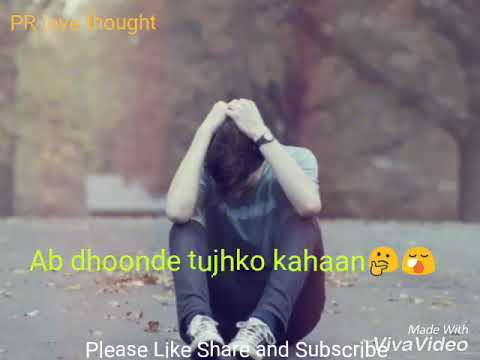 Mat ja re (sad version)with lyrics. For whatsApp status and sharing
