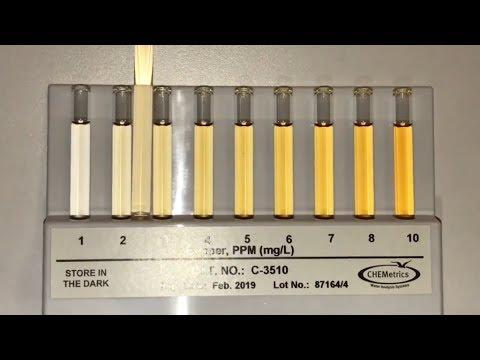 Coppersafe Vs CHEMetrics 2