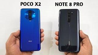 Poco X2 vs Redmi Note 8 Pro   Speed Test   Comparison