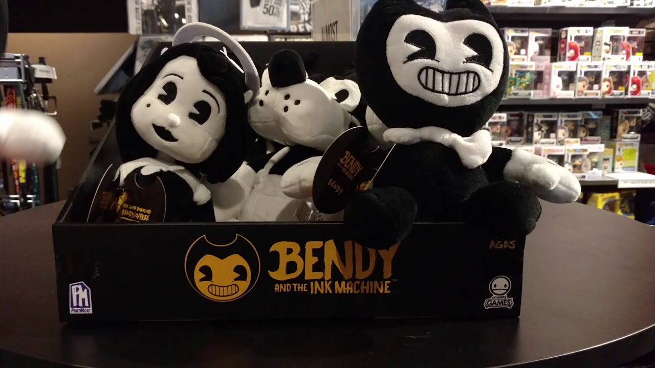 Exclusive Bendy and the Ink Machine Plush Hot Topic Boris ...