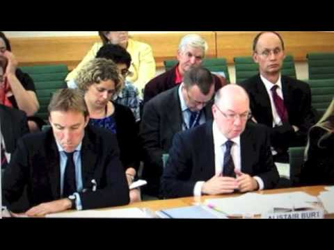 Alistair Burt MP in Parliamentary session about UK