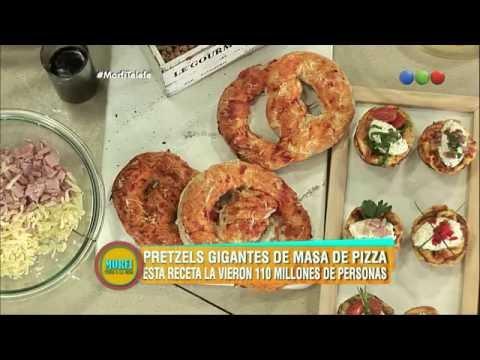¡Pizza en cono y pretzels de pizza! - Morfi