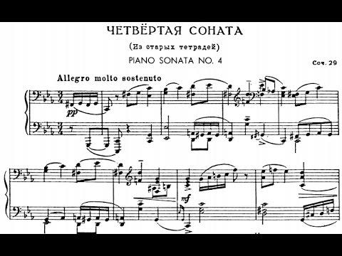 Prokofiev Piano Sonata No. 4 in c minor, Op. 29 (Lugansky)
