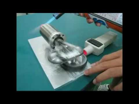 Asymmetric Rhombic Drive Stirling Engine [PEACE Lab. NCKU]