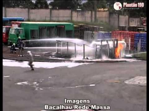 Empilhadeira explode e mata funcionário na Ambev
