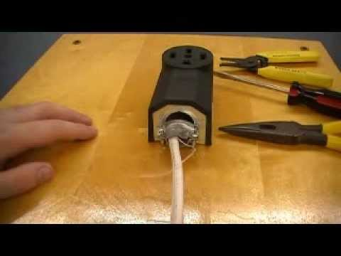 4 Wire Dryer Connection Diagram Dryer 240v Receptacle Youtube