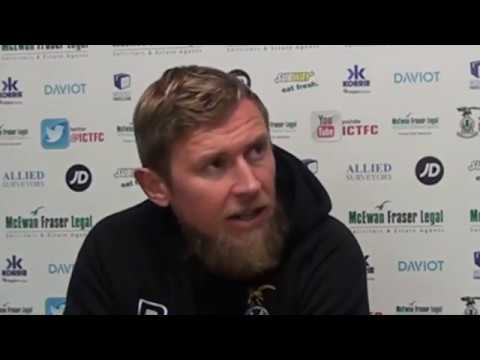 CaleyJagsTV : Richie Foran Match Preview v Dundee FC : 24/11/16