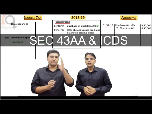 CA Final DT - May and Nov 2019 | SEC 43AA & ICDS | Demo | in English | CA. Arvind Tuli