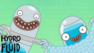 HYDRO and FLUID   Bubble Wrap   Cartoons for Children   Kids TV Shows Full Episodes