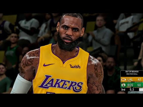 Fans Use Mods To Create NBA 2K19 In 2K18 & It Looks SICK! (BETA) LEBRON 81 Point Challenge VS Kyrie!