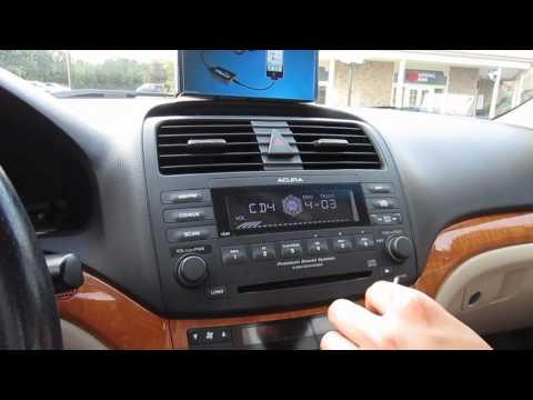 GTA Car Kits - Acura TSX 2004-2008 Install Of IPhone, IPod And AUX Adapter For Factory Stereo