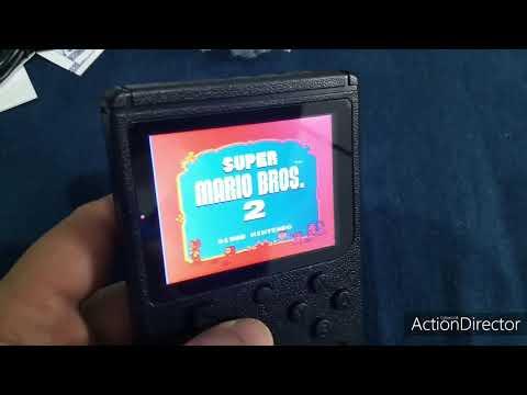 Portátil Com 500 Jogos De Nintendo 8bit