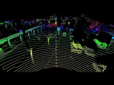 LiDAR Data Visualization With Bounding Boxes